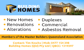 building homes toowoomba