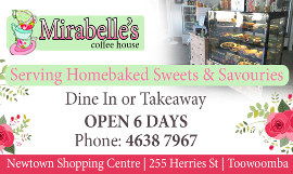 Mirabelle's Coffee House toowoomba